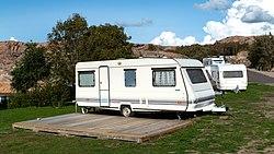 White caravans in Sävens camping in Skalhamn.jpg