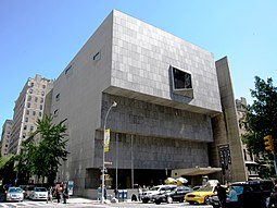 Met Breuer building in 2010, when it was the Whitney Museum of American Art. Whitney Museum of American Art.JPG