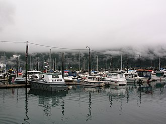 Whittier, Alaska - Image: Whittier Harbor, Alaska (2)