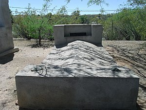 Henry Wickenburg - Tomb of Henry Wickenburg