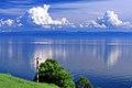 Widok z Listwianki na jezioro Bajkał 17.JPG