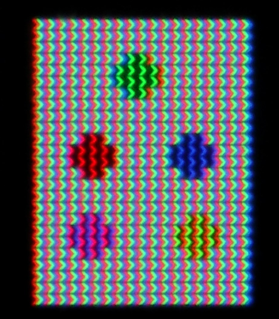Liquid-crystal display - Howling Pixel