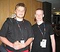 Wikimania06-fridrik-aevar.jpg