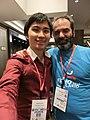 Wikimania 2017 by Deryck day 0 - 08 Patricio.jpg
