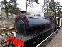 Wilbert at Parkend on the Dean Forest Railway