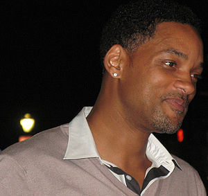 Will Smith, sorry for the red eyes!
