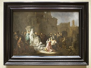 Lystra - St. Paul and Barnabas in Lystra by Willem de Poorter