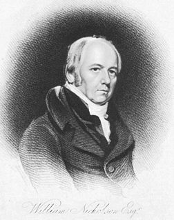 William Nicholson (chemist) UK chemist (1753-1815)