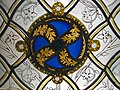 Window with Grisaille Decoration (detail), stained glass, Normandy, Rouen, 1320-1330 (5458579039).jpg