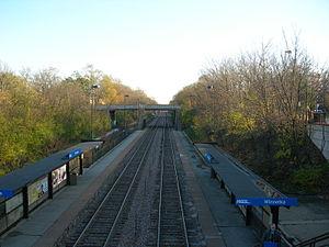 Winnetka station - Winnetka Metra Station