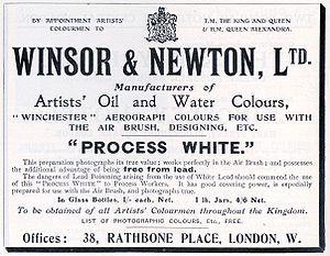 Winsor & Newton - Image: Winsor & Newton 00