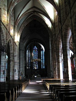 Wissembourg cathedral interior.jpg