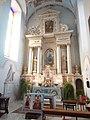 Wnętrze Bazyliki Nawiedzenia Najświętszej Maryi Panny w Sejnach 7 - ołtarz boczny.jpg