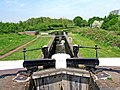 Wolverley Court Lock looking north, Staffs and Worcs Canal - geograph.org.uk - 799377.jpg