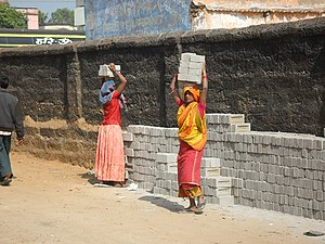 Women's health in India - Image: Women at work, India