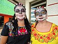 Women in Day of the Dead Outfits - Campeche - Yucatan Peninsula - Mexico (15684865381).jpg