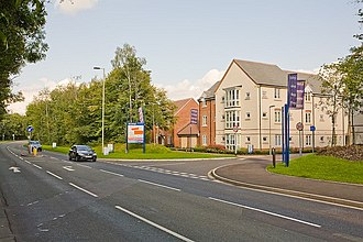 Bellway - A Bellway development in Hampshire, England