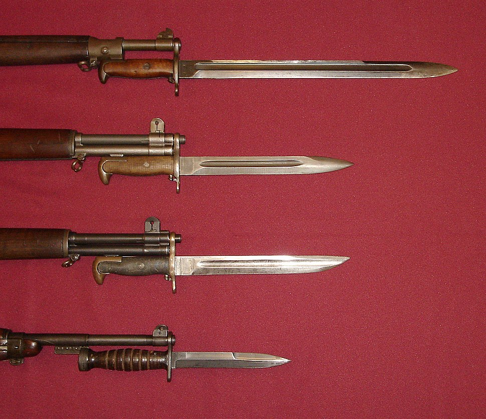 World-War-II-US-Military-Bayonets
