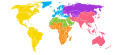 World Organization of the Scout Movement map.svg