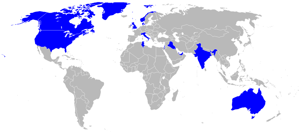 World operators of the C-130J Hercules