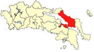 Chalcis Province - Image: Xalkida province