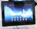 Xperia Tablet S auf der Internationalen Funkausstellung 2012 in Berlin 2 PD.JPG