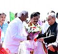 YOU 9098 Deputy Chief Minister Telangana with President of India.JPG