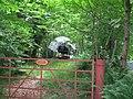 """Yacht lurking in """"Woodside""""'s garden - geograph.org.uk - 839321.jpg"""