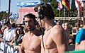 Yannick Agnel & Michael Phelps after 200m freestyle-7 (18978766425).jpg