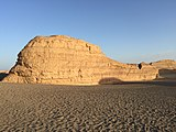 Yardang at Dunhuang.jpg