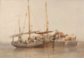 Yarmouth herring boat by Edward Duncan.png