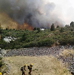 Yarnell Hill Fire with firefighters.jpg