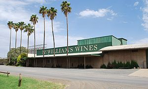 Australian wine - McWilliams winery near Griffith in the Riverina wine region