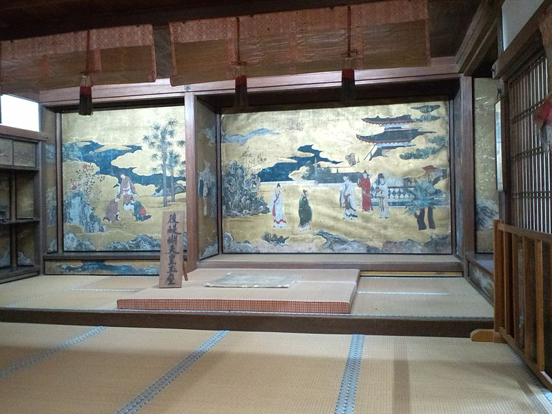 File:Yoshimizu-Shrine Indoors of shoin 3.jpg