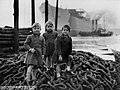 Young guests at the launch of the cargo ship 'Empire Crown' (30004231690).jpg