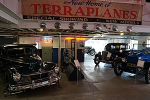 Ypsilanti Automotive Heritage Museum - The interior of the Museum in 2015