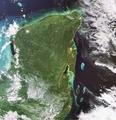 Yucatan Peninsula captured by Envisat ESA221765.tiff