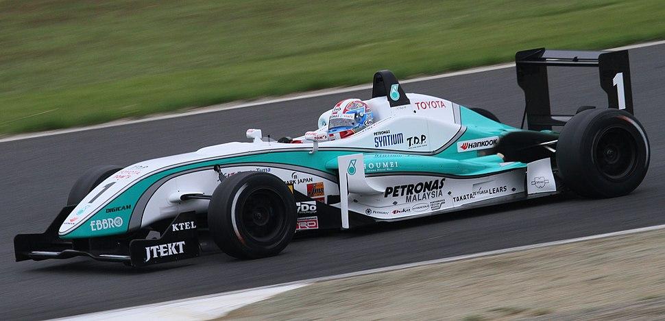Yuji Kunimoto 2010 All-Japan F3 Motegi (May) Race-2 1
