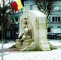 Yvonne Serruys - Grieving woman - War monument in Menen (Belgium).jpg