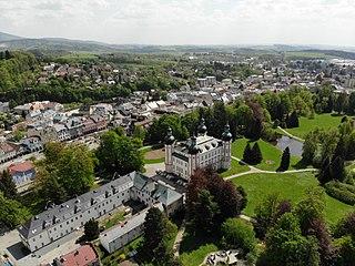 Vrchlabí Town in Hradec Králové, Czech Republic