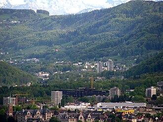 Leimbach (Zürich) - Image: Zürich Leimbach Sihltal Käferberg IMG 2374