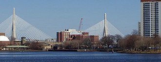 Leonard P. Zakim - The Leonard P. Zakim Bunker Hill Memorial Bridge over the Charles River was named to honor Zakim's civil rights and race relations work in Boston.