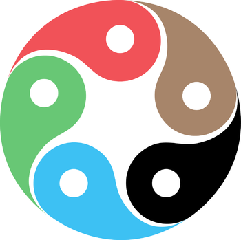 English: Zentao symbol as evolution of the Tao...