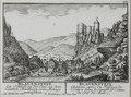 Zentralbibliothek Solothurn - BLAUENSTEIN Ein Schloss an der Clus in dem Canton Solothurn von Mittage anzusehen l BLAUENSTEIN Château apres du Passage de lEcluse dans le Canton de Soluze du Côté du Midi - a0644.tif