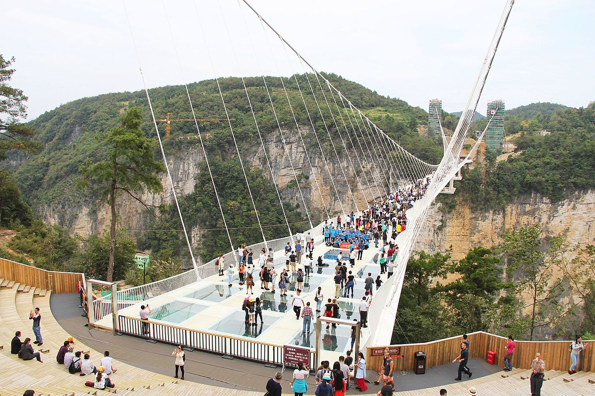 zhangjiajie glass bridge wikipedia - Zhangjiajie Glass Bridge