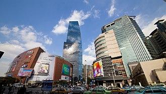Cloud Nine (Shanghai) - View of Cloud Nine.