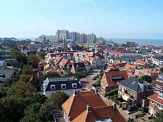 Noordwijk - Aerial view over Noordwijk aan Zee