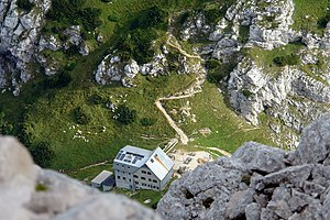 Grintovec - Zois Lodge at Kokra Saddle