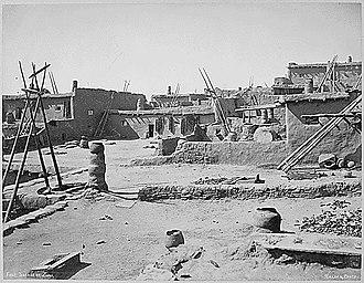 Zuni - Zuni pueblo in 1879