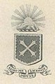 """Nemo me impune lacessit"" (No one ""cuts"" (attacks) me with impunity) Latin motto from Trinity ivy yearbook 1911 (page 86 crop).jpg"